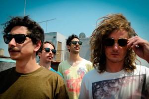La banda chilena Astro nació hace 5 años.