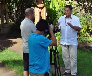 El alcalde de Isla de Pascua, Pedro Edmunds Paoa , asegura que la fiesta del Tapati representa todos los valores de la cultura rapanui.