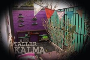 El interior del Taller Kalma