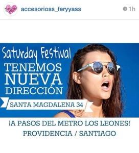 Saturday Festival Providencia