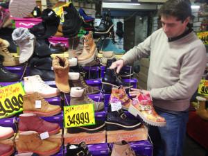 Patricio Abarca, trabajador de la tienda.