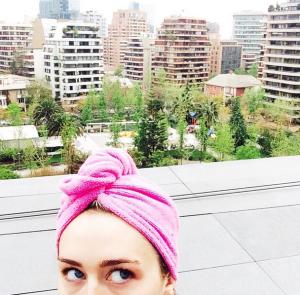 Foto que posteó hoy de su instagram