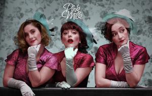"Gabriela Aguilera, Elvira López y Daniela Lhorente, son ""Pink Milk"""