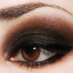 Resultado final del smokey eyes