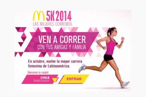 Únete a la corrida femenina más grande de Latinoámerica