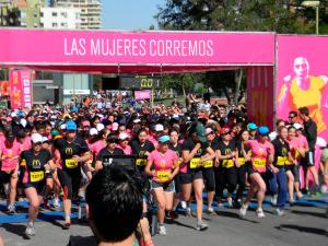 Gran convocatoria en la corrida 5k del año 2013.
