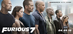 """Póster oficial de """"Furious 7"""""""