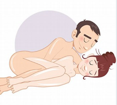 Postura sexual el molde
