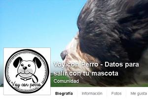 Perfil de Facebook de Voy con Perro