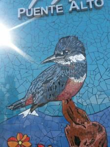 Mosaico en la comuna de Puente Alto.